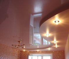 Подробнее: Уход за натяжными потолками